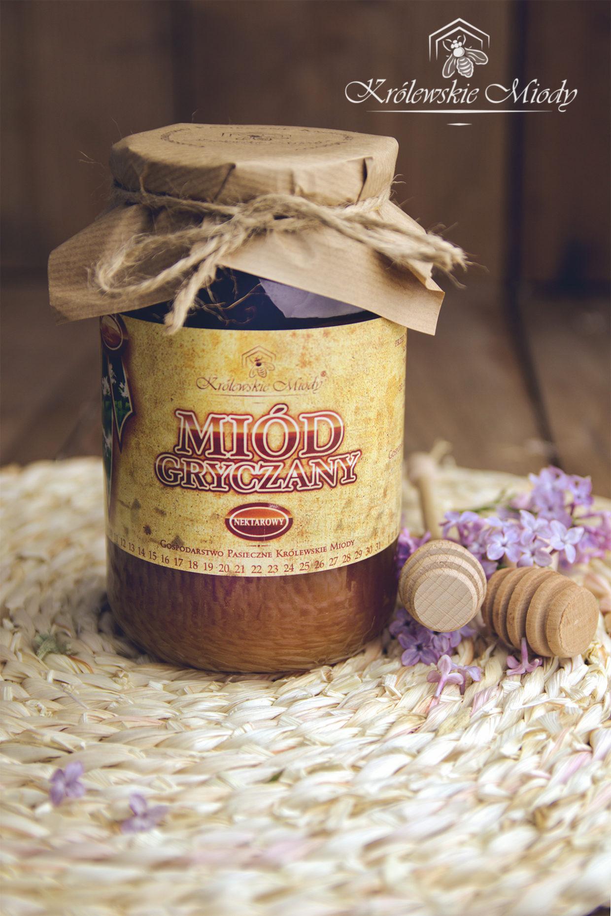 Miód gryczany -Królewskie Miody