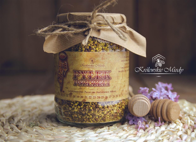 Pyłek pszczeli – Królewskie Miody